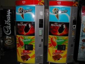 Prodejni automat na zmrzlinu