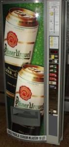 Prodejní automat na pivo