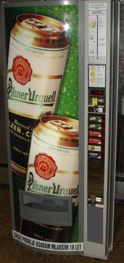 Prodejní automaty na pivo